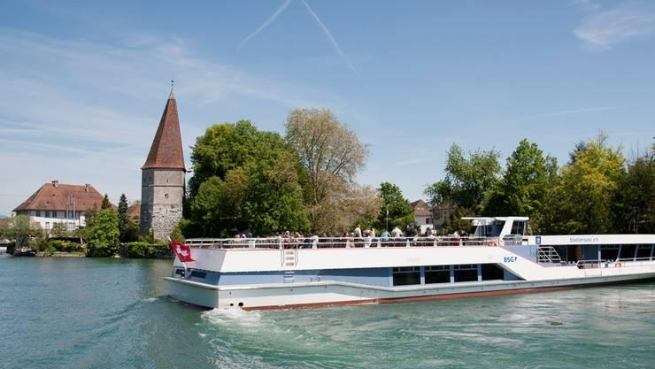 Aare-Schiff bei Solothurn (Archivbild).
