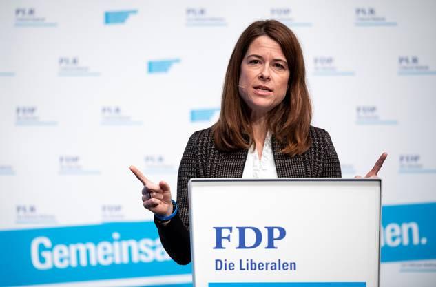 FDP-Präsidentin Petra Gössi.