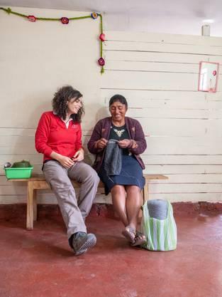 Danièle Turkier hat in den peruanischen Anden ein Hilfswerk gegründet