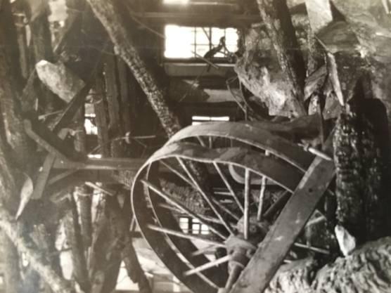 Bilder der Verwüstung nach dem Brand vom 4. November 1918.