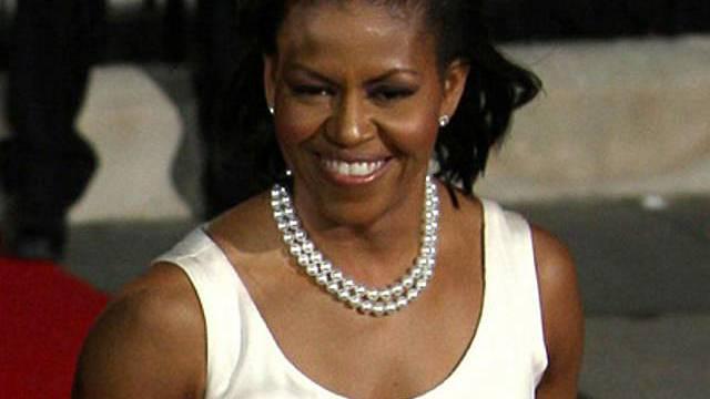 Michelle Obama mag Pasta und Süsses