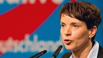 AfD-Chefin Frauke Petry besucht die Auns. (Archiv)