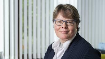 Marianne Wildi ist Vorsitzendende der Geschäftsleitung der Hypothekarbank Lenzburg.