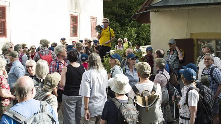 ch media Leserwanderung bei der Ermitage