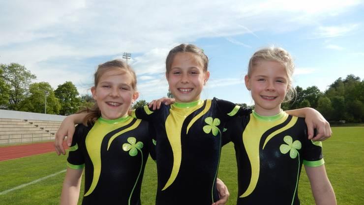 Mira Stalder, Bernadette Fries und Noelia Haider