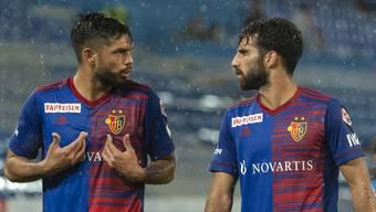 Diskussionsbedarf beim FCB: Regelmässig bricht die Mannschaft nach der Pause ein.