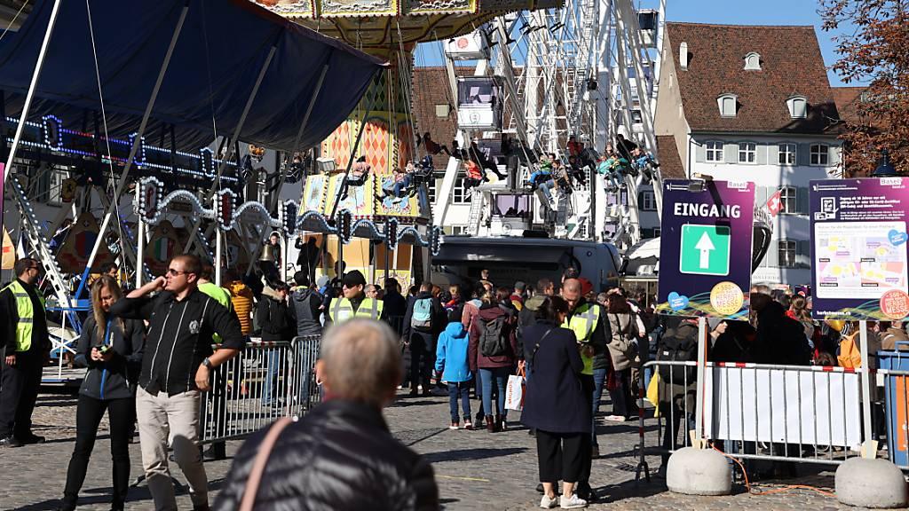 Basler Herbstmesse mit Corona-Schutzkonzept eröffnet