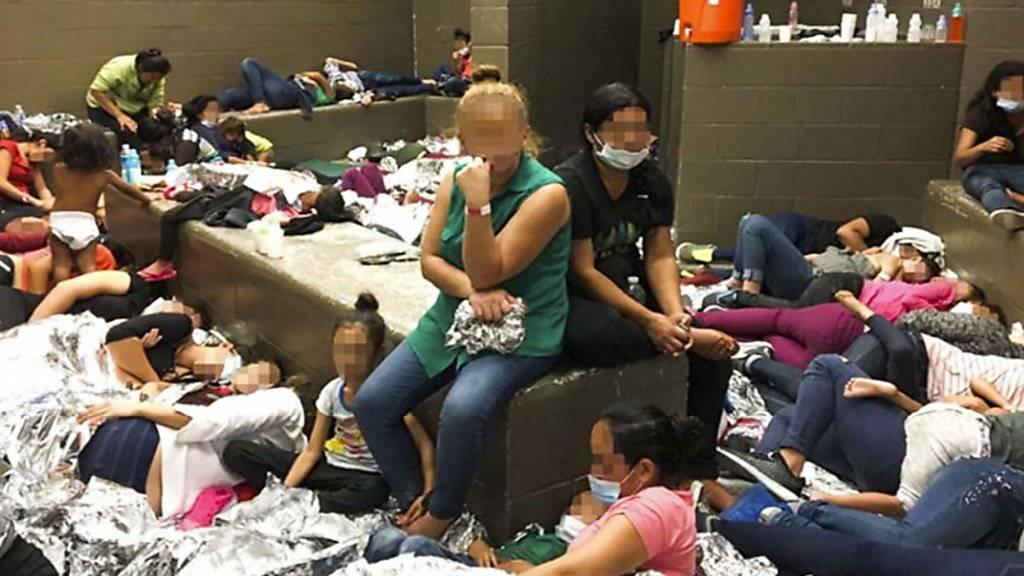 Die Aufsichtsbehörde des US-Ministeriums für Innere Sicherheit beschrieb ein verheerendes Bild von Flüchtlingslagern in den USA. (Archivbild)
