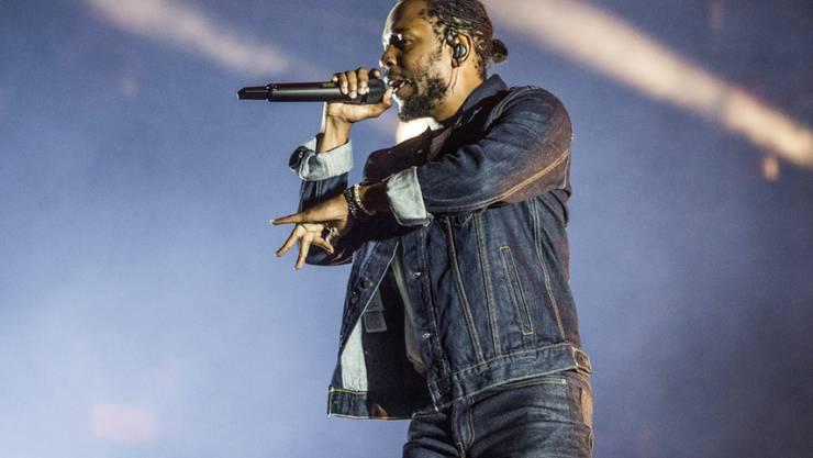 Zeigt Herz: Rapper Kendrick Lamar spendiert einer gelähmten jungen Frau ein Auto. (Archivbild)