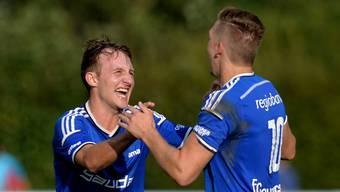 Subingens Torgaranten in den bisherigen sechs Spielen: Kevin Künzler (5 Tore) und Aaron Sperisen (3 Tore). Hans Peter Schläfli