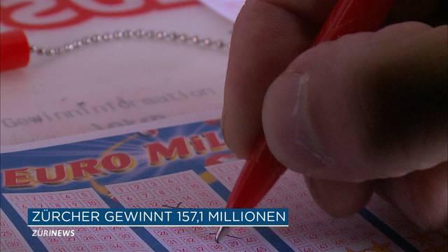 Zürcher gewinnt 157,1 Millionen