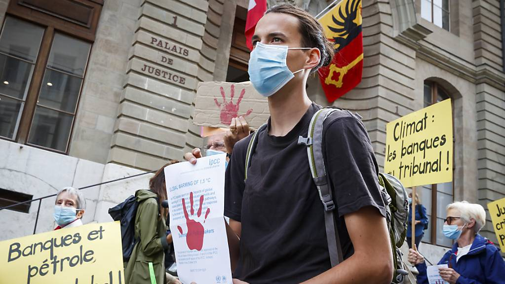 Das Genfer Berufungsgericht hat am Mittwoch einen 23-jährigen Klimaaktivisten freigesprochen.