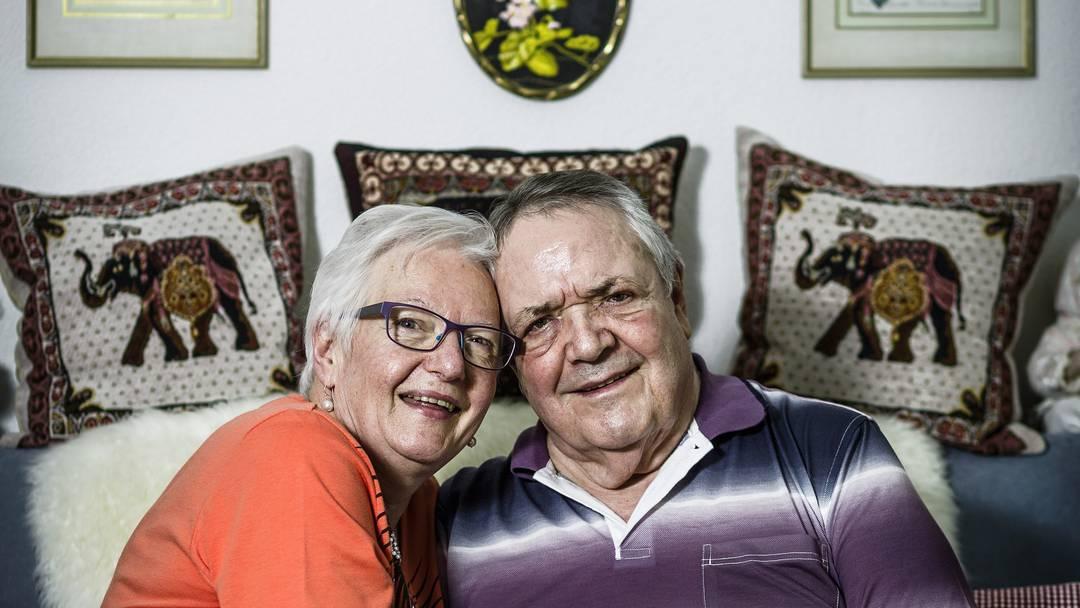 Liebe ist ...? Sonja und René Schmid antworten.
