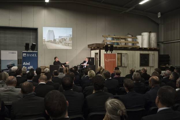 Die bz im Gespräch mit Beat Heydrich, dem Chef der Transportfirma Ultra-Brag.