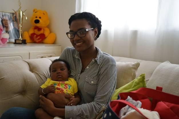 Natiefah John wollte sich mit 17 das Leben nehmen. Dank der Hilfe des Sunrise-Centers glaubt sie heute an eine Zukunft.