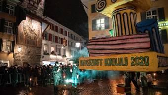 Bööggverbrennen Solothurn 2020 ohne brennenden Böögg