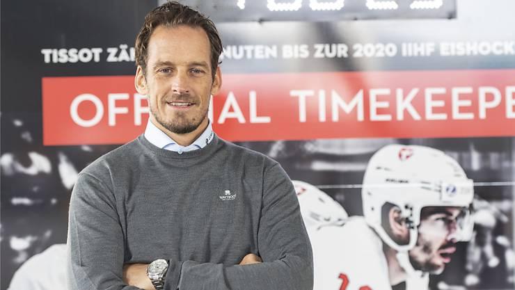 Nationalcoach Patrick Fischer wird in der Heim-WM-Saison mit seinem Team ein Heim-Vorbereitungsturnier in Visp bestreiten