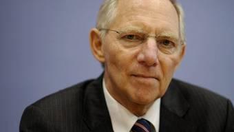 Bundesfinanzminister Wolfgang Schäuble (Archiv)