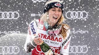 Mikaela Shiffrin kann schon vor dem Saisonstart ein erstes Mal feiern