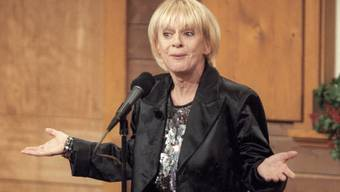 Auf dee Bühne fühlt sich Ursula Schaeppi wohl (Archiv)