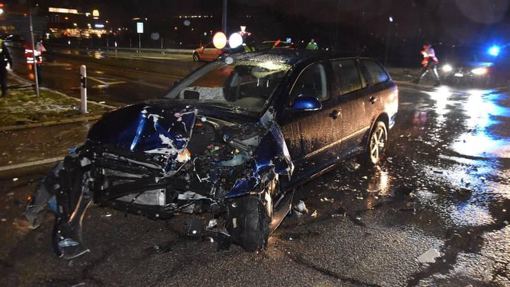 Zum Unfall kam es auf der Expressstrasse.