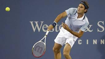 Roger Federer bezwingt in Cincinnati Tommy Haas.