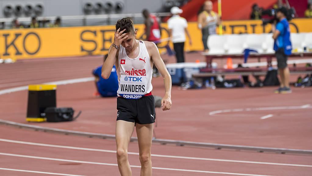 Julien Wanders erlebte zum WM-Abschluss eine Enttäuschung.