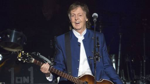 Paul McCartney ist Stargast der 50. Ausgabe des Glastonbury-Festivals