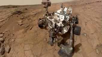 Die neue Mars-Roboter trägt den Namen Perseverance. Im Bild noch der frühere Roboter  (Archivbild)