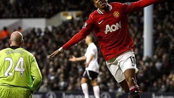 Ashley Young steuerte zwei Tore zu Manchester Uniteds Sieg bei.