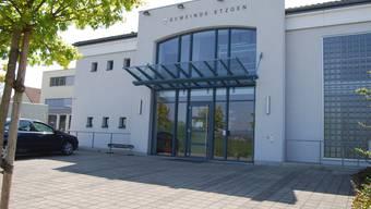 Im Etzger Gemeindehaus kann zusätzlicher Schulraum geschaffen werden (sh)
