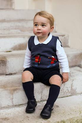 Die Fotos des Prinzen sollen rund um seinen ersten Geburtstag aufgenommen worden sein.