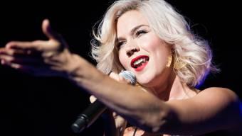 Ausdrucksstarke Stimme, einnehmende Erscheinung: Joss Stone (30) bei ihrem Open-Air-Auftritt in Pratteln.