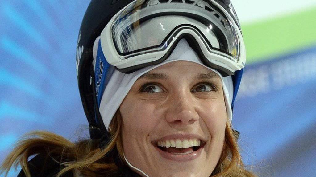 So warm angezogen wie auf der Skipiste ist Ex-Profisportlerin Mirjam Jäger nicht immer. (Archivbild)
