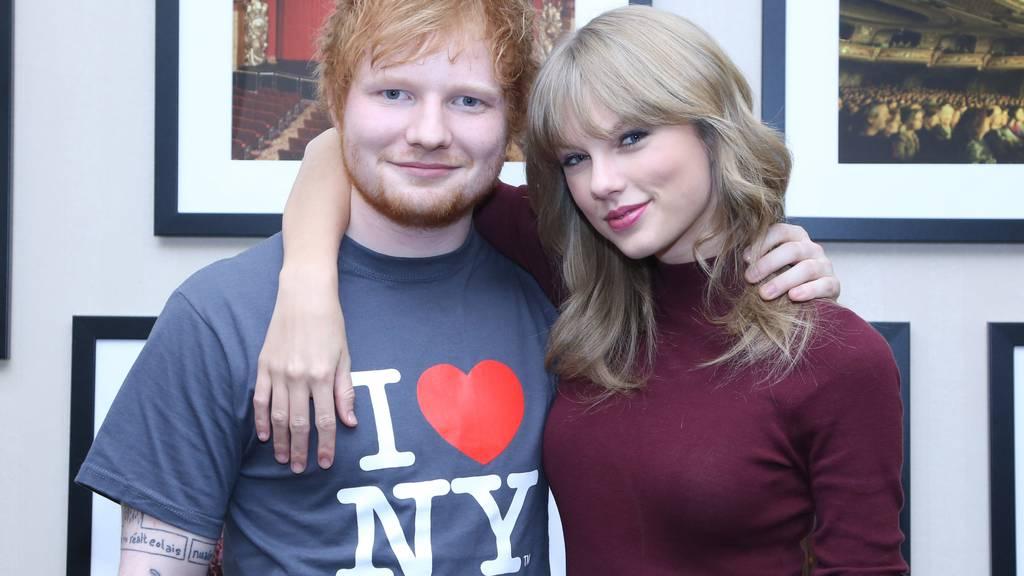 Ed Sheeran und Taylor Swift sehen ja schon ein bisschen aus wie Emojis.