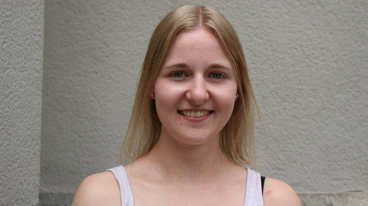 Vanessa Bürgin (19), Pharma-Assistentin aus Kölliken