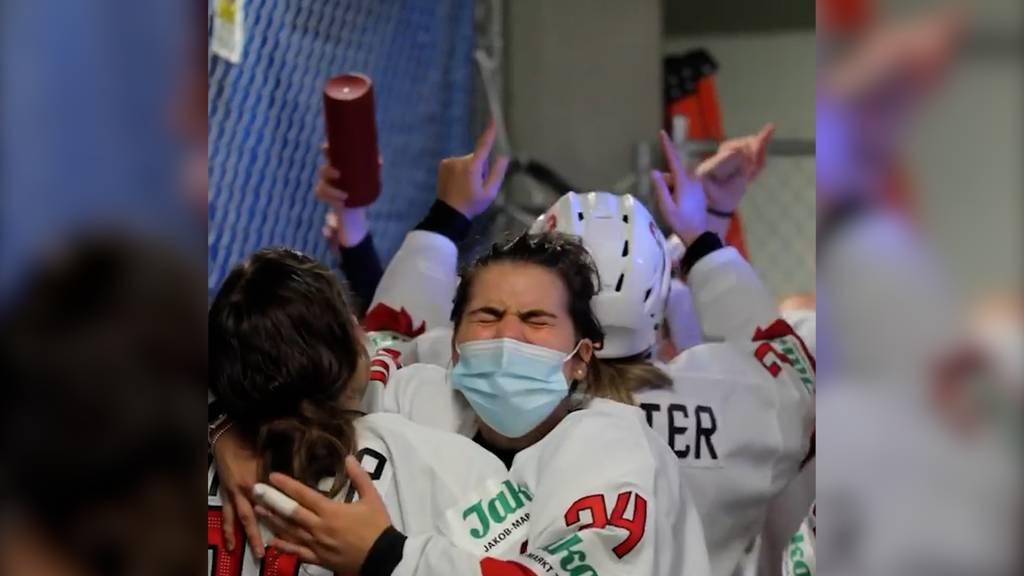 So bringen die Schweizer Eishockey-Frauen das Internet zum Mitjubeln