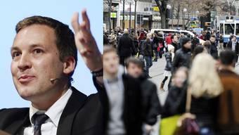 Der Vorstand um AUNS-Präsident Lukas Reimann sagte knapp Nein, die Mitgliederversammlung klar Ja zur Ecopop-Initiative.