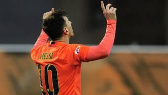 Lionel Messi sorgte mit seinem Doppelpack für den Unterschied.