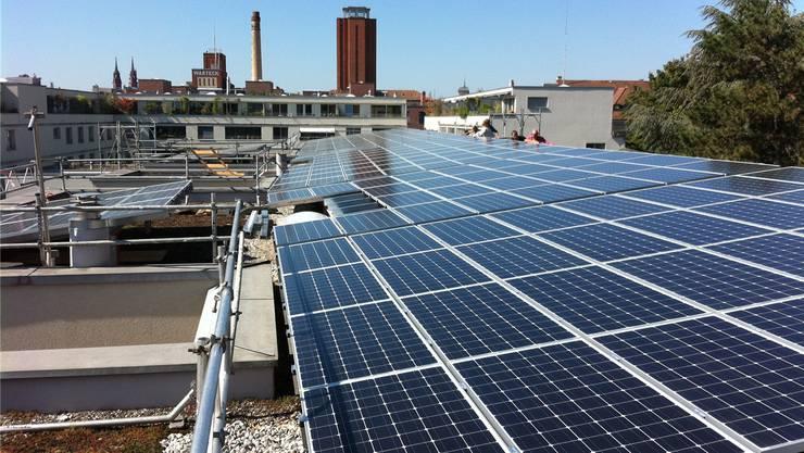 Dank des Engagements der Bewohner wurden im Quartier Photovoltaikanlagen installiert, die Strom für rund 250 Haushalte liefern.
