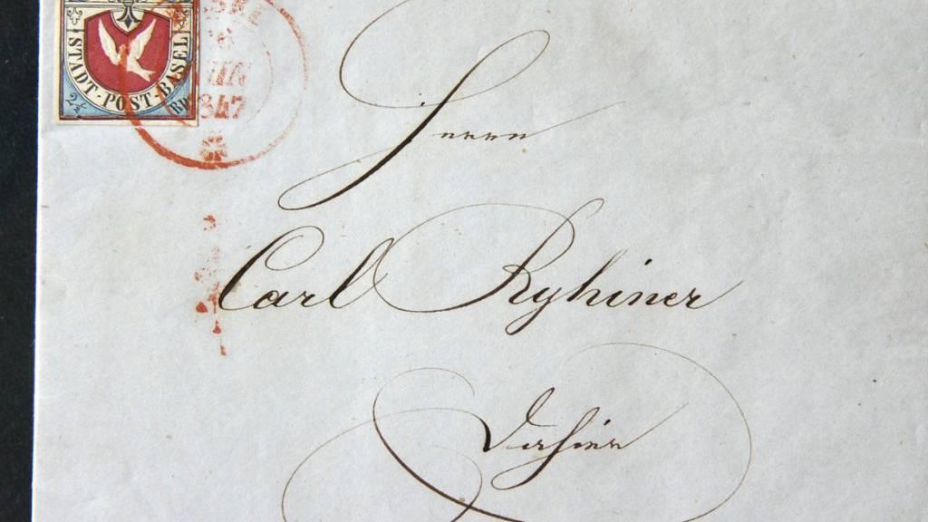 Sondermarke zum 175-Jahr-Jubiläum des «Basler Dybli»