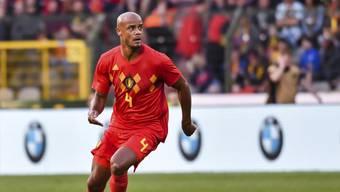 Belgien kann auf Vincent Kompany zählen