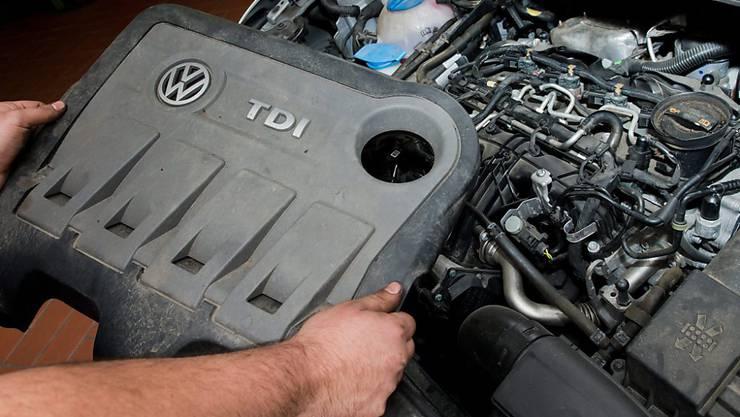Der VW-Motor EA189, der inzwischen den Abgas-Skandal bei Volkswagen auslöste, wurde 2008 noch mit einem konzerninternen Umweltpreis ausgezeichnet. (Archiv)