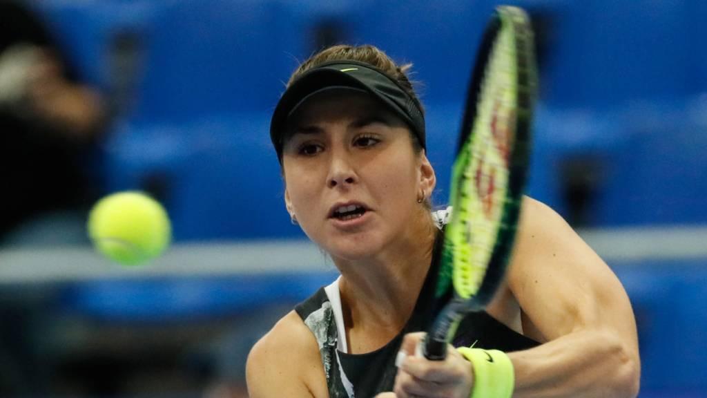 Belinda Bencic verpasste in Adelaide den Vorstoss in den Halbfinal