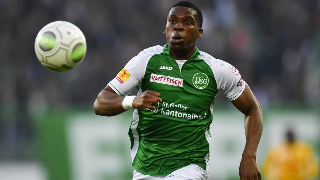 Kutesa verlässt den FC St.Gallen