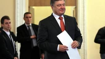 Poroschenko hat Grund für Optimismus bei den Parlamentswahlen