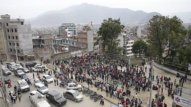 In Kathmandu düften sich Dutzende Schweizer aufhalten