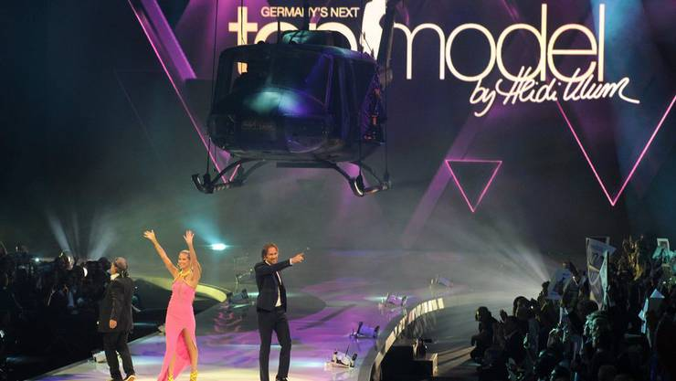 Germanys Next Top Model mit Heidi Klum. (Archiv)