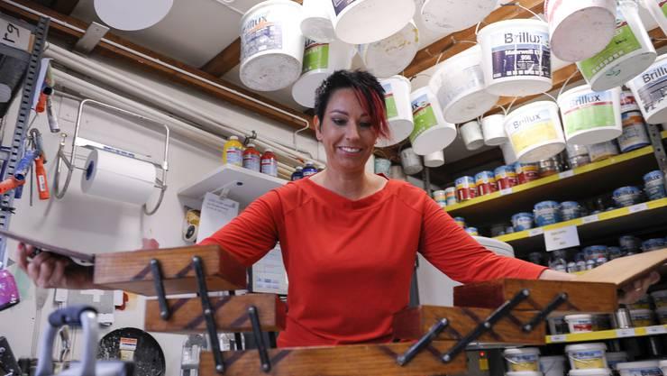 Der Beruf geht vor: Malermeisterin Sandra Sollberger will nicht Präsidentin der SVP Schweiz werden.