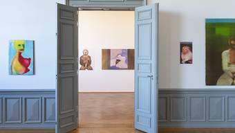 Die Bilder der Schweizer Künstlerin Miriam Cahn im Rahmen einer Ausstellung im Kunstmuseum Bern im vergangenen Jahr.